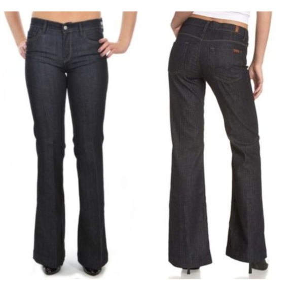 7 for all Mankind Denim - 7 For All Mankind Ginger Jeans Flare Leg Waist 27